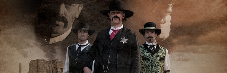 Les justiciers du Far West