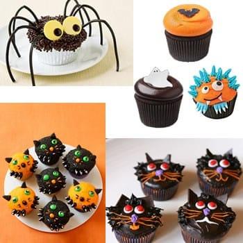 Exemples de cupcake Halloween