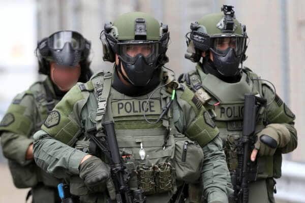 Tenue SWAT et GIGN