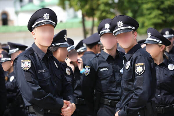 Uniforme de policier américain
