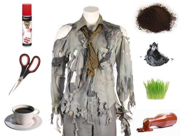 Quelques éléments pour personnaliser une tenue de zombie