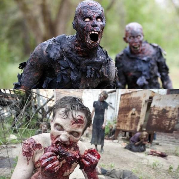 Photo de zombie
