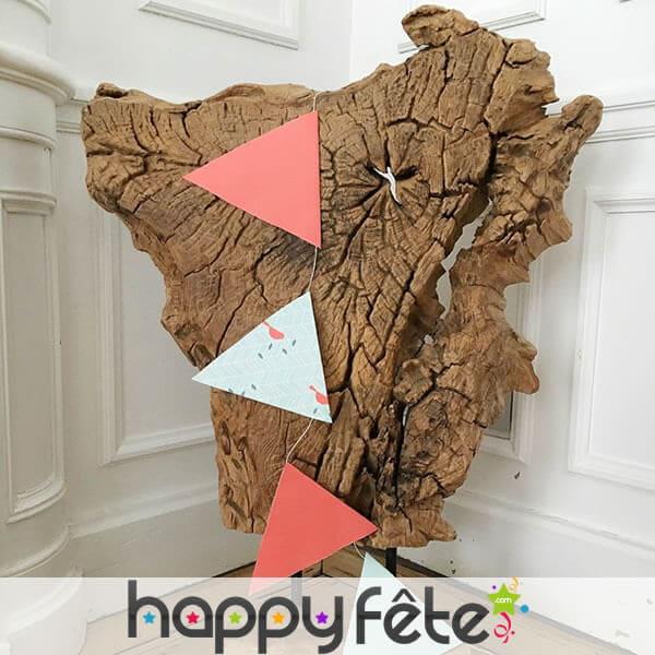 fabriquer une guirlande en papier