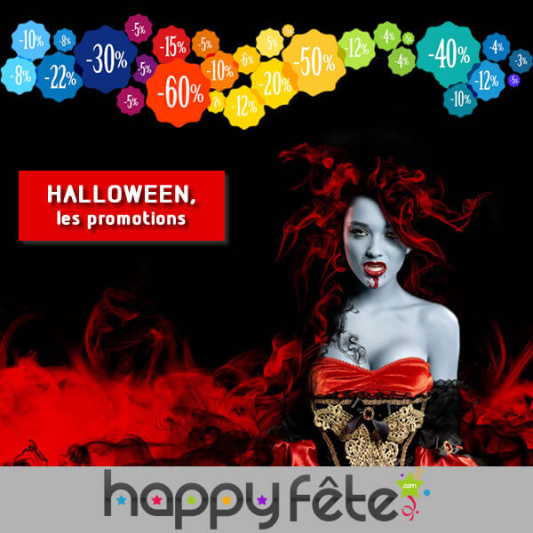 les promotions d'halloween