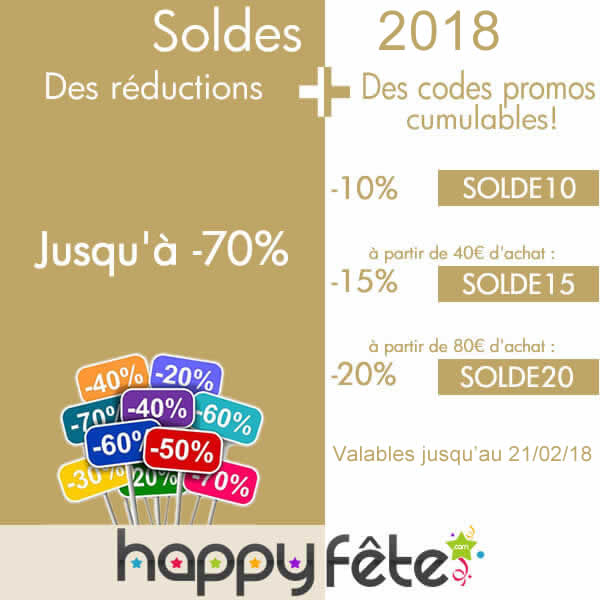 les soldes d'hiver 2018, promotions et réductions