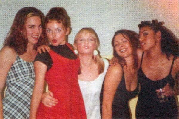 Photo des Spice girls en 1994