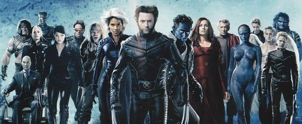 Photo de tous les x-mens en version cinéma