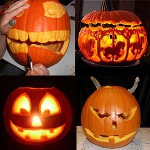 Comment bien organiser une apr s midi halloween pour enfant - Comment vider une citrouille ...