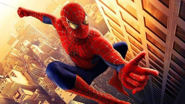 Image de Spiderman qui lance sa toile