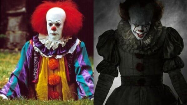 Le nouveau et ancien Ça le clown