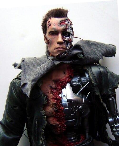 Terminator T-800 Arnold Schwarzenegger