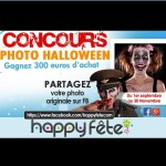 Concours halloween 2014 : 300 euros d'achat offerts