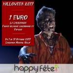 Halloween 2017, la livraison à 1 euro.