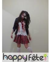 Photo de Déguisement écolière zombie horreur prise par Alison