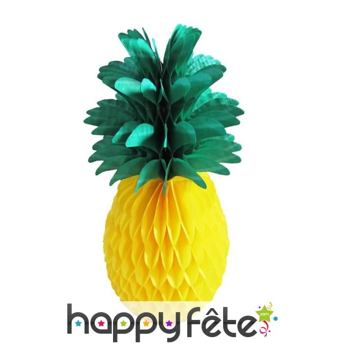 Decoration Papier Alveole Fruits