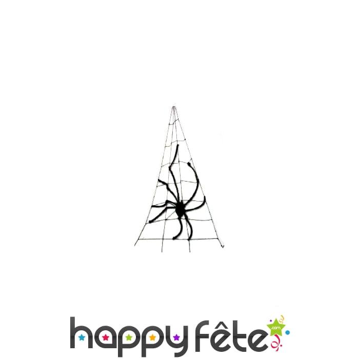 Araignee g ante avec toile de d coration for Toile d araignee decoration