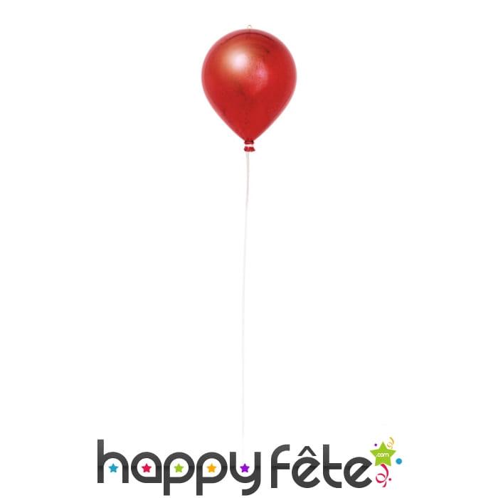 Boule de no l ballon rouge - Boule de noel rouge et blanche ...