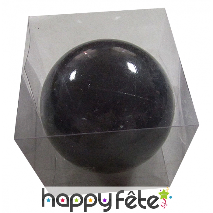 boule de noel noir brillant de 10 cm. Black Bedroom Furniture Sets. Home Design Ideas