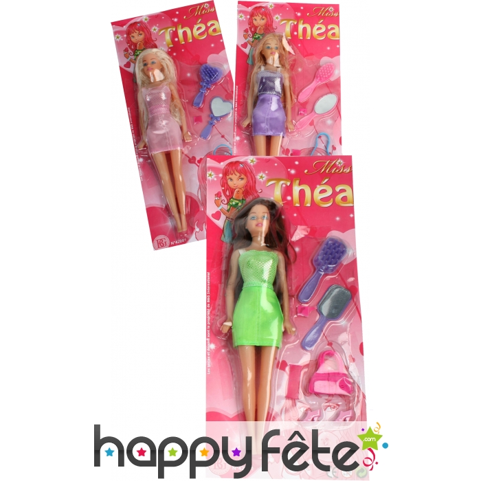 barbie miss thea et accessoires. Black Bedroom Furniture Sets. Home Design Ideas