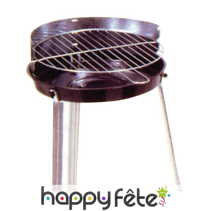 barbecue rond. Black Bedroom Furniture Sets. Home Design Ideas