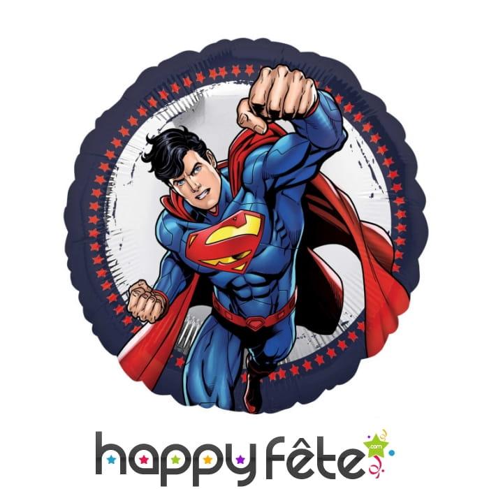 Ballon Rond Du Dessin Animé Superman De 43 Cm