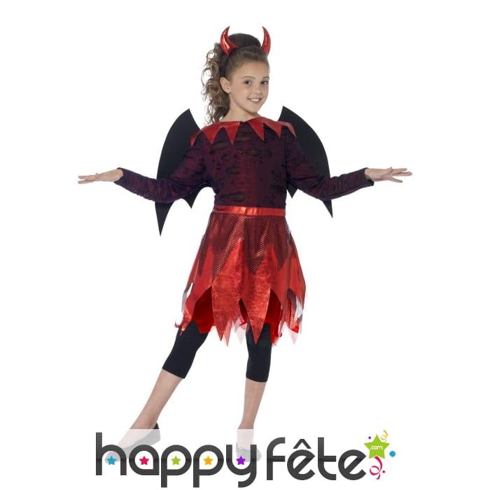 Costume de petite diablesse enfant - Petite diablesse ...
