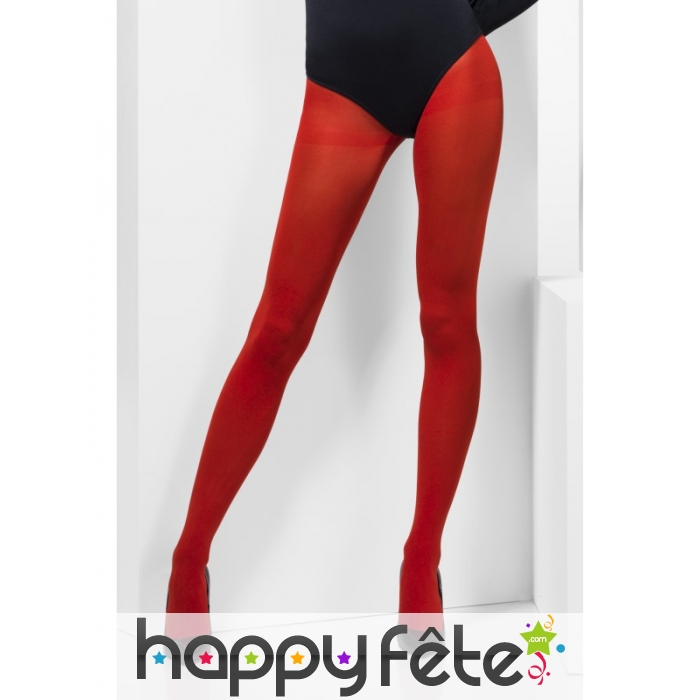 collant opaque rouge. Black Bedroom Furniture Sets. Home Design Ideas