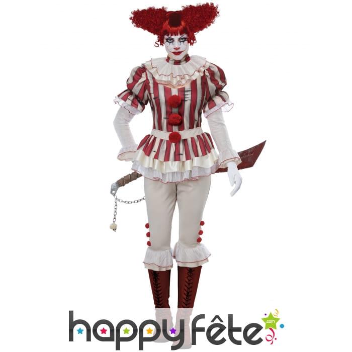 Élégant Femmes Fille Arc En Ciel À Rayures Fluo Jambières Clown Gay carnaval costume