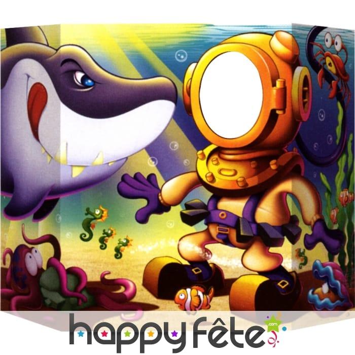 D cor de requin pour photo for Requin decoration