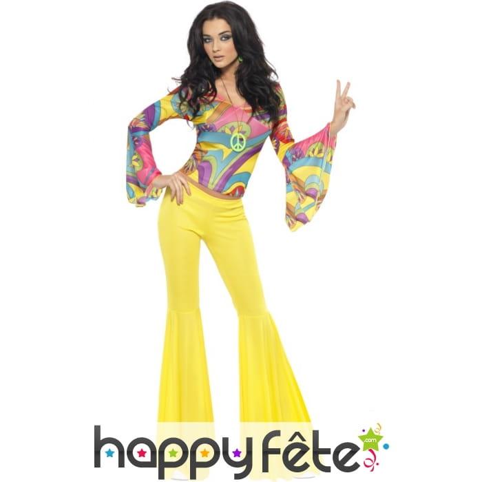 D guisement hippie ann es 70 femme pictures to pin on - Hippie annee 70 ...