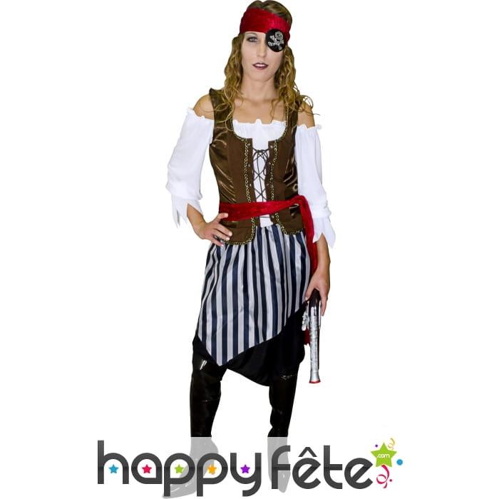 D guisement pirate dame - Deguisement dame blanche ...