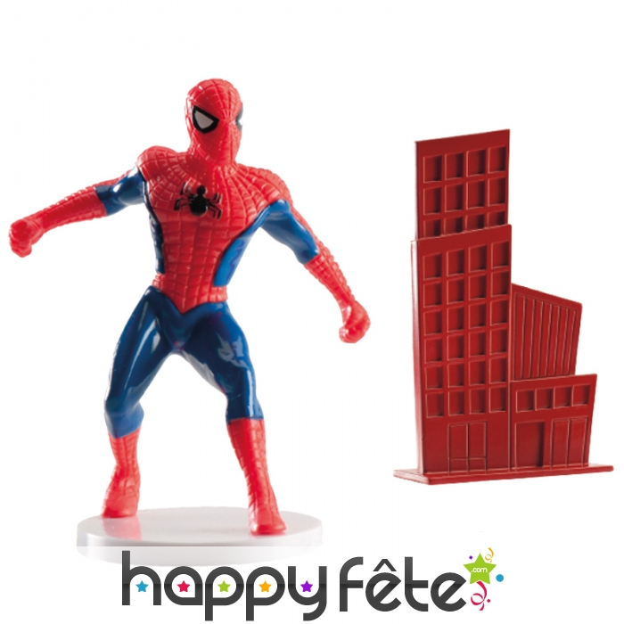d corations spiderman pour g teau pvc. Black Bedroom Furniture Sets. Home Design Ideas