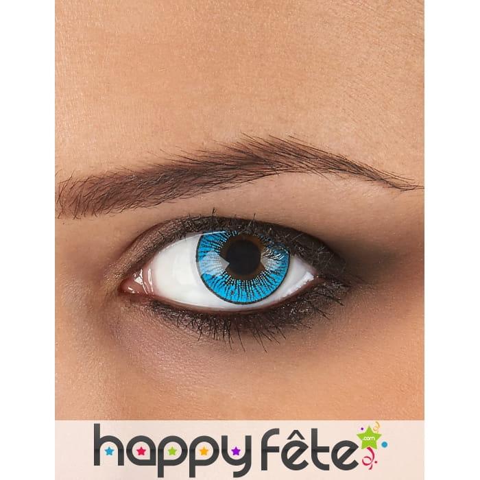 Lentilles yeux bleu gris - Yeux gris bleu ...