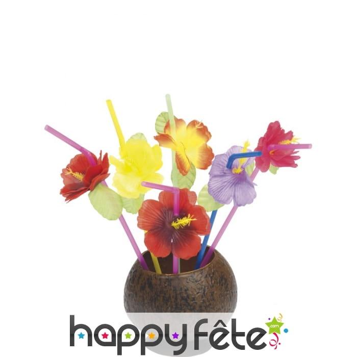 Paille hawaienne fleurs - Fleure hawaienne ...
