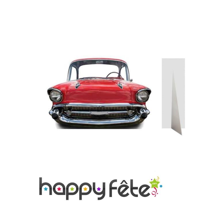 passe t tes ancienne voiture rouge taille enfant. Black Bedroom Furniture Sets. Home Design Ideas