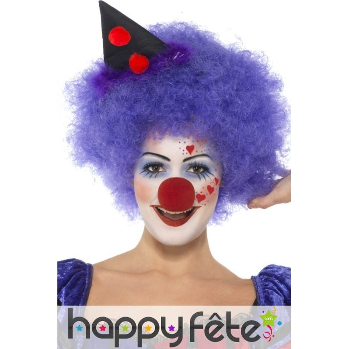 Maquillage de clown terrifiant - Maquillage de clown facile ...
