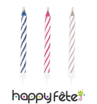 10 bougies magiques d'anniversaire