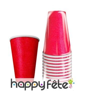 10 gobelets rouges red cups de 50 cl