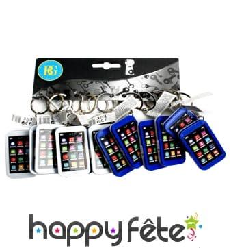 12 portes clés smartphone lampe led