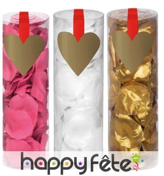 288 Confettis de décoration en pétales de rose