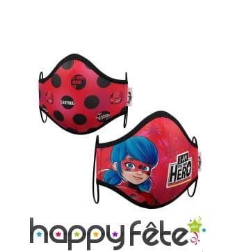 2 masques de protection Ladybug pour enfant
