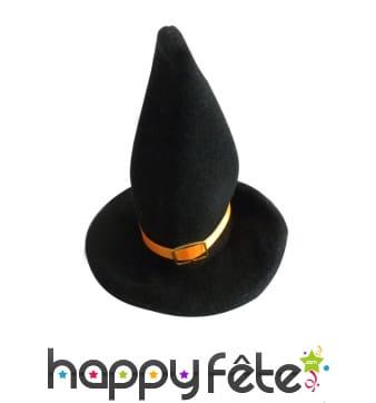 2 Petits chapeaux de sorcière décortatifs, 18cm