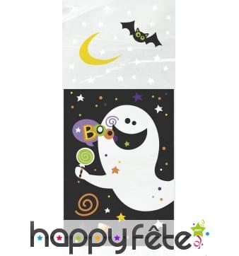 20 Sachets Halloween gentil fantôme de 28 x 13 cm