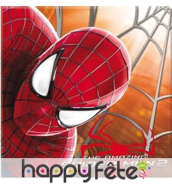 20 serviettes spiderman 2