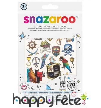 20 Tatouages pour garçon, Snazaroo