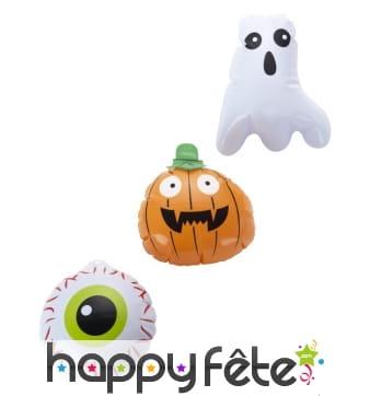 3 petites décorations Halloween gonflables