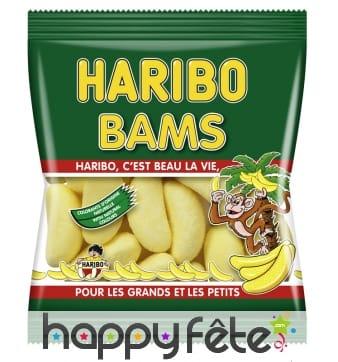30 sachets banane bams haribo