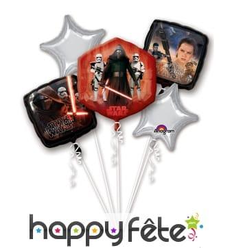 4 Ballons Star Wars, le réveil de la force