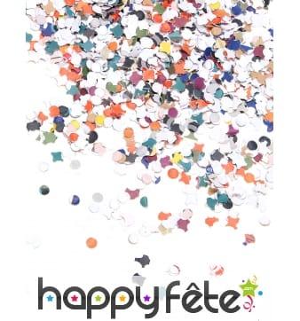 400gr de confettis multicolores