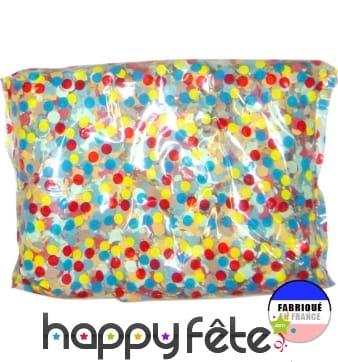 450g de confettis multicolores